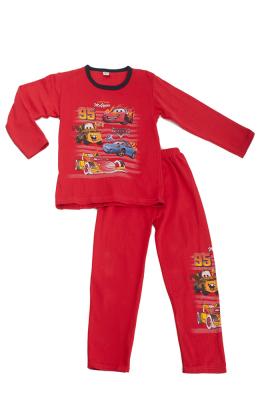 Асма к-т 2-ка детский байка брюки  мальчик 3034 красный