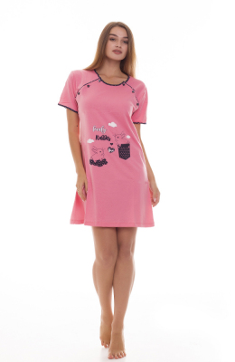 Ночная рубашка для кормящих мам Miss Moda 90118